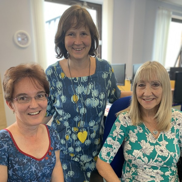 Shared Lives South West staff team celebrate 15 years service