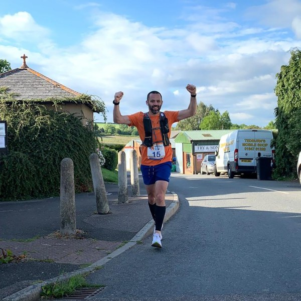 Shared Lives South West CEO Dominic Spayne completes 200 mile run for Shared Lives Week