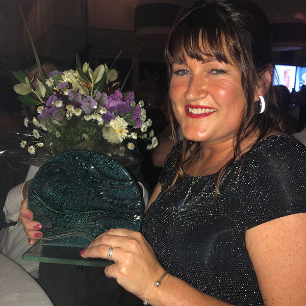 Care and Support Awards winner Sarah O'Shea