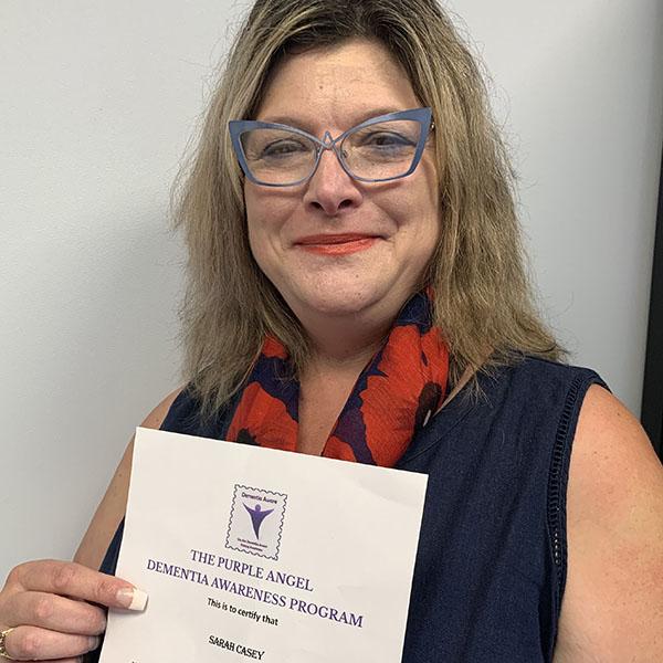 Sarah Casey Dementia Champion