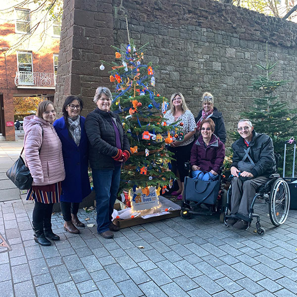 Princesshay Charity Tree Trail Shared Lives South West