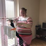Anna who has moved into a Shared Lives South West placement into her own flat