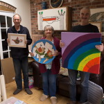 ivor carol and peter web 150x150 - Artwork to raise money for NHS and Covid-19 appeal