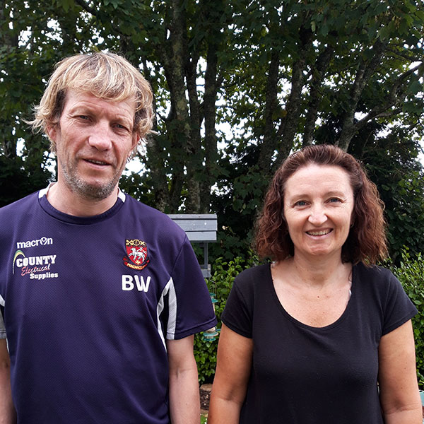 Ian has moved in with Karen following Covid-19 restrictions softening